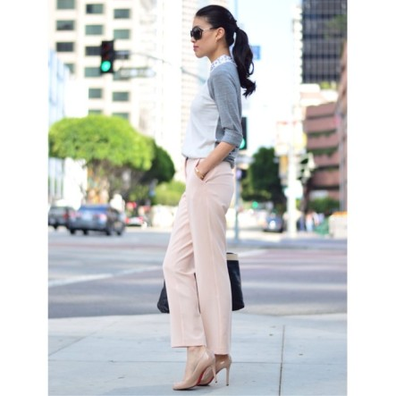 christian-louboutin-heels-and-asola-pants-and-j-crew-sweater