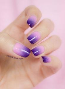gradient nails 2