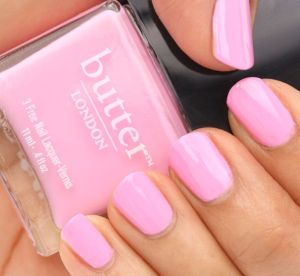 Pink Butter Nail Polish - blackgirlish.com