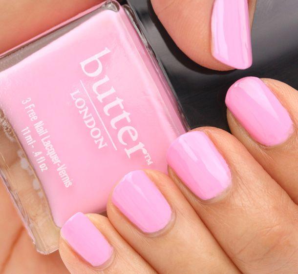 Pink Butter Nail Polish - blackgirlish.com