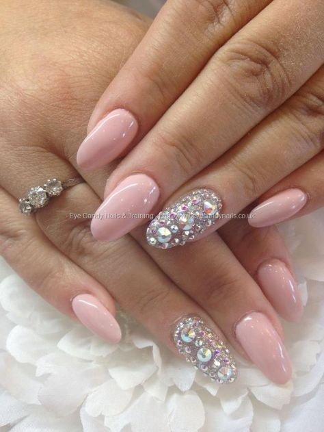 Pink Bling Nails - beauty - blackgirlish.com