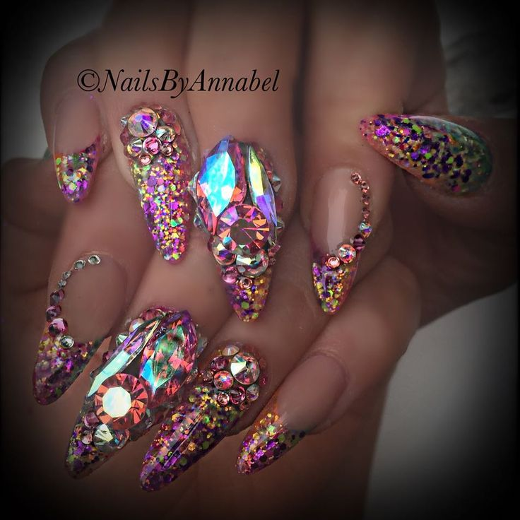 Bling nails inspiration part ii 16 photos blackgirlish bling nails designs blackgirlish prinsesfo Image collections