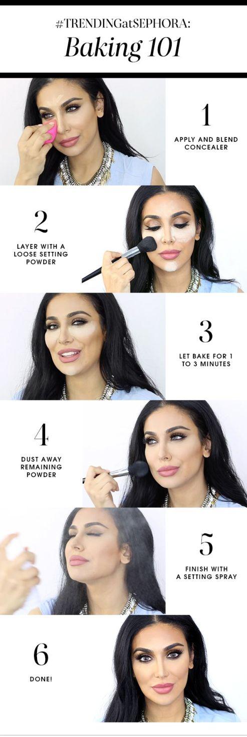Face Baking - Makeup - blackgirlish.com
