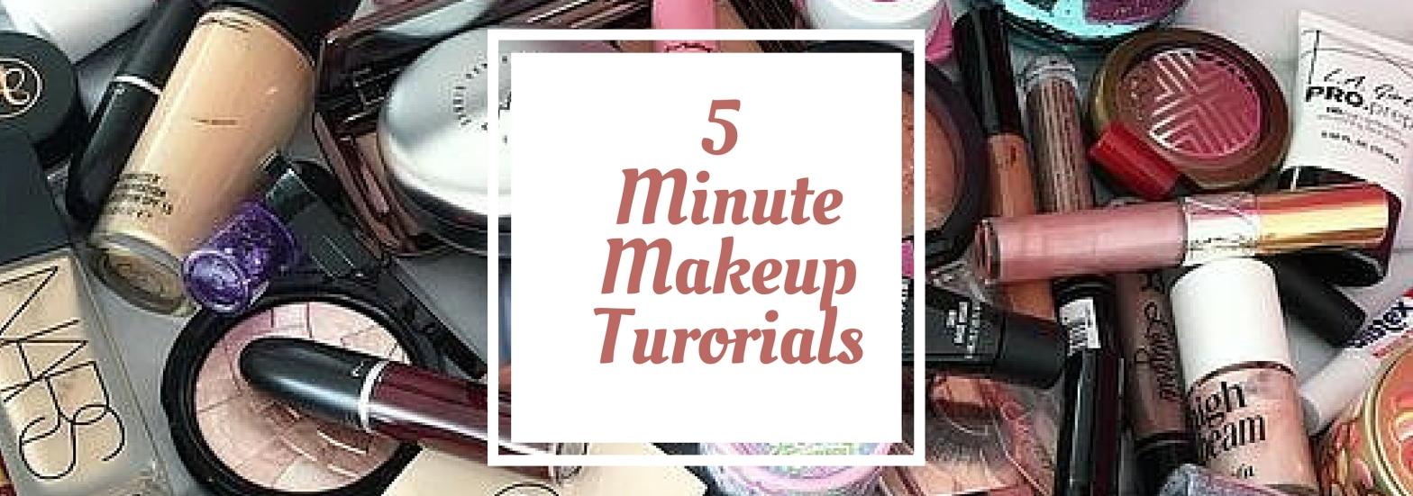 5 Minute Makeup Tutorials-Beauty-blackgirlish.com