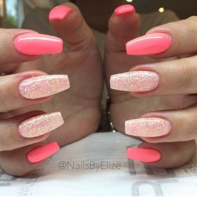 bling stiletto nails