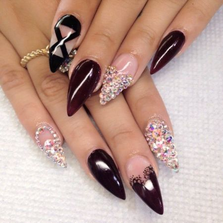 Stilletto Nails-blackgirlish.com