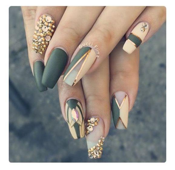 bling nail designs