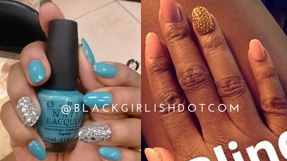 Bling Nails, Design, Art, OPI