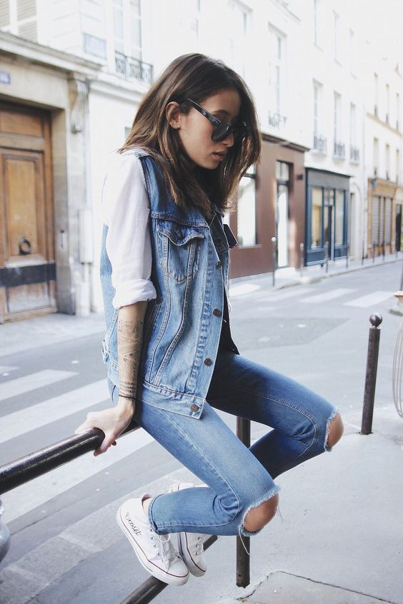 denim outfit-fashion-2016