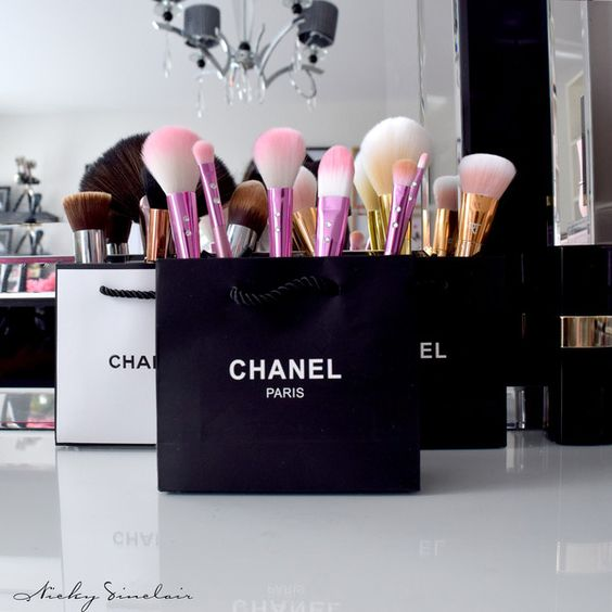 Chic Makeup Storage