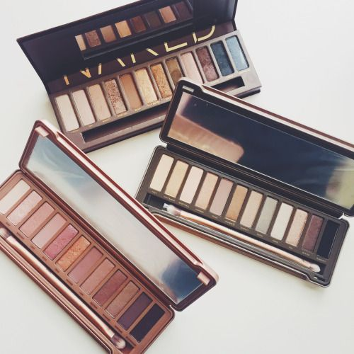 Urban Decay Naked Palettes-Favorite Eye Palettes