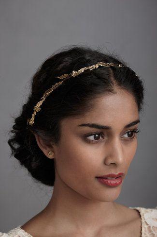 Gold headband - blackgirlish.com
