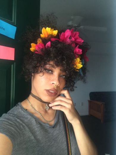 flower crown - hair - blackgirlish.com