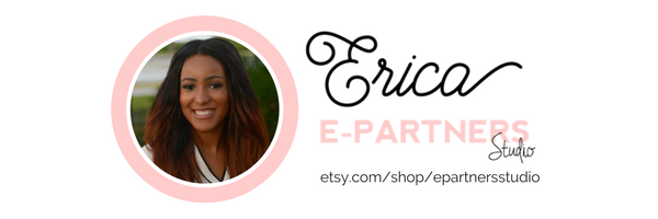 E-Partners Studio on Etsy - Positive Printables and Bold Branding