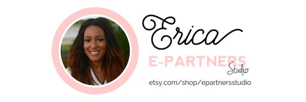 E-Partners Studio on Etsy - Positive Printables and Bold Branding
