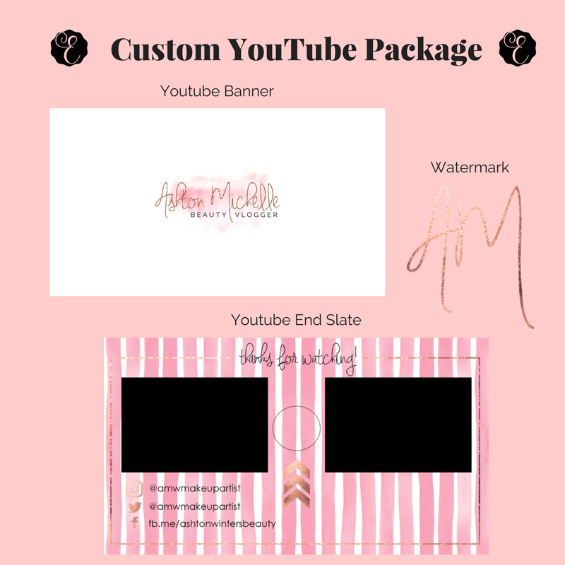 Custom Youtube Channel Design: Favorite Custom YouTube Banners I've Made
