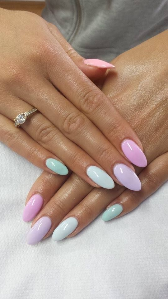 Oval Nails - blackgirlish.com
